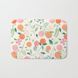Vanilla Peaches Bath Mat