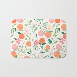 Vanilla Peaches Bath Mat