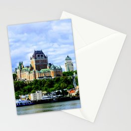 Le Château Frontenac Stationery Cards