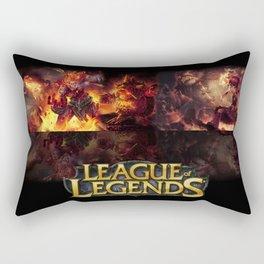 Fire League Rectangular Pillow