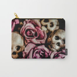 On A Bed Of Roses Carry-All Pouch