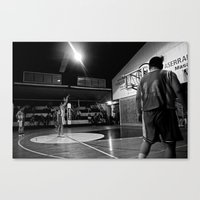 basketball Canvas Prints featuring Basketball by The Missionary Photographer