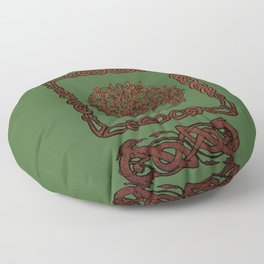 Celtic Tree of life Floor Pillow