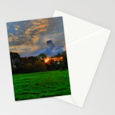 Sunset after the Storm Stationery Cards