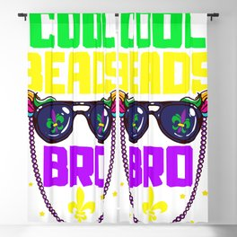 Cool Beads Bro  Blackout Curtain