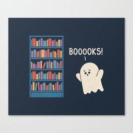 Booook Lover Canvas Print