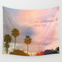Summer in the Suburbs Wall Tapestry