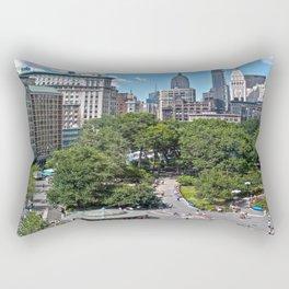 Union Square, NYC Rectangular Pillow