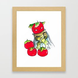 Tales from the Tomato Warrior Framed Art Print