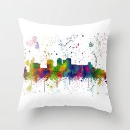 Birmingham, Alabama Skyline Throw Pillow