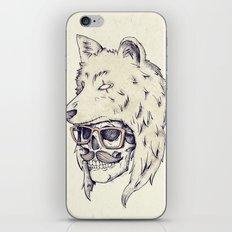 WOLF HAT iPhone & iPod Skin