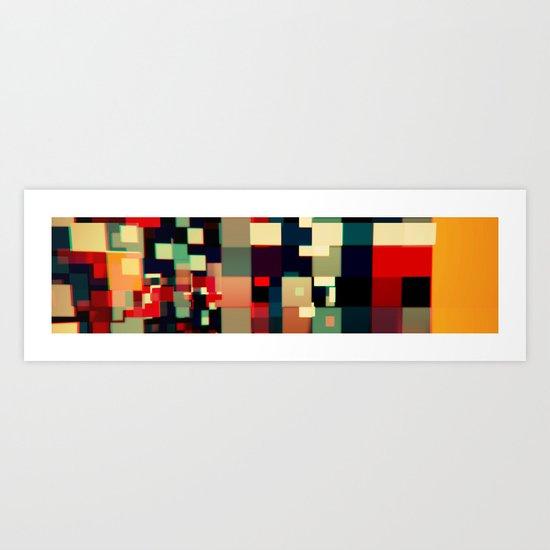 Patchwork IV Art Print