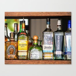 Last Call For Alcohol Canvas Print