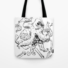 Monster Autopsy Tote Bag