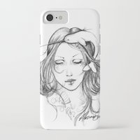 narwhal iPhone & iPod Cases featuring Narwhal by Mortimer Sparrow