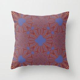 Sequential Baseline Mandala 12p Throw Pillow