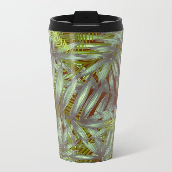 Leaves #1 Metal Travel Mug