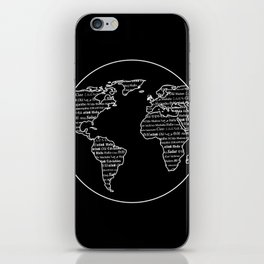 Hello Multi-linguistic World iPhone Skin