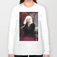 blondie Long Sleeve T-shirts featuring Blondie by Euan Anderson