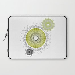 Modern Spiro Art #5 Laptop Sleeve