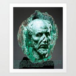 Plotinus Art Print