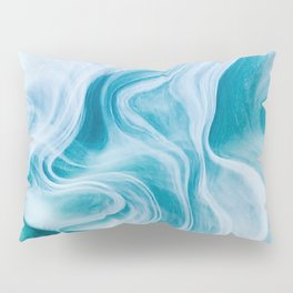 Marble sandstone - oceanic Pillow Sham