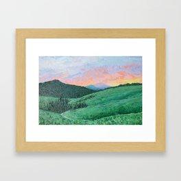 Lamar Valley, Yellowstone Framed Art Print