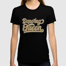 Retro Seventies Disco Dancing Queen 70s T-shirt