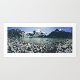 Upper Joffre Lake, Pemberton Art Print