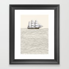 Ship Framed Art Print