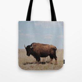 Big Horn Bison Tote Bag