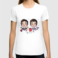wes anderson T-shirts featuring 5 years of Blaine Anderson by Sunshunes