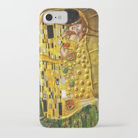 gustav klimt iPhone & iPod Cases featuring My Klimt by Müge Başak
