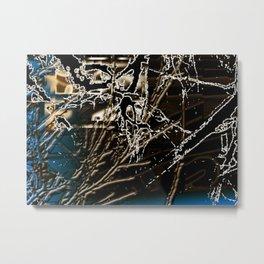 trippy-8 Metal Print