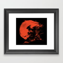 Killer Strokes Framed Art Print