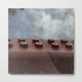 -Bolts- Metal Print