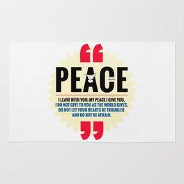 PEACE! Rug