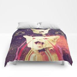 galactic Cats Saga 4 Comforters