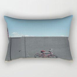 The red bike doesn't exist Rectangular Pillow