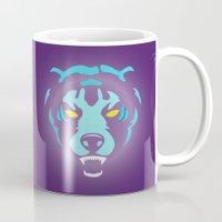 fierce Mugs featuring Fierce by MaNia Creations
