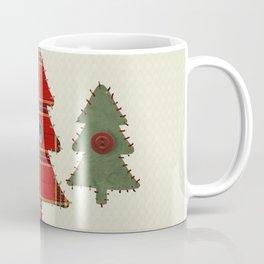 Country Christmas Trees Coffee Mug