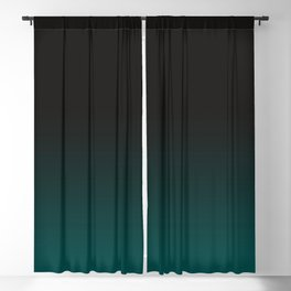 Color Change, Gradation, Forest Green Blackout Curtain