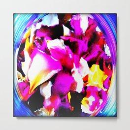 Summer Petals Metal Print