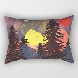 Lost in the Color Rectangular Pillow