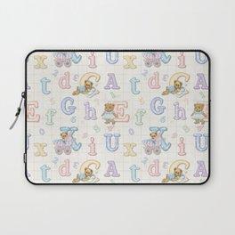 Teddy Bear Alphabet ABC's Laptop Sleeve
