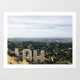 View From The Hills Art Print