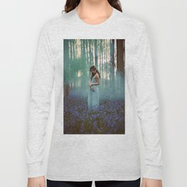 Girl in forest 2 Long Sleeve T-shirt
