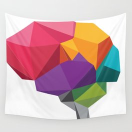 creative brain Wall Tapestry
