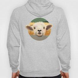Sweet Lamb in the Barnyard Hoody