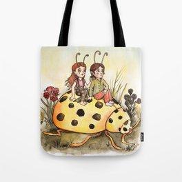 Ladybug Friends Tote Bag
